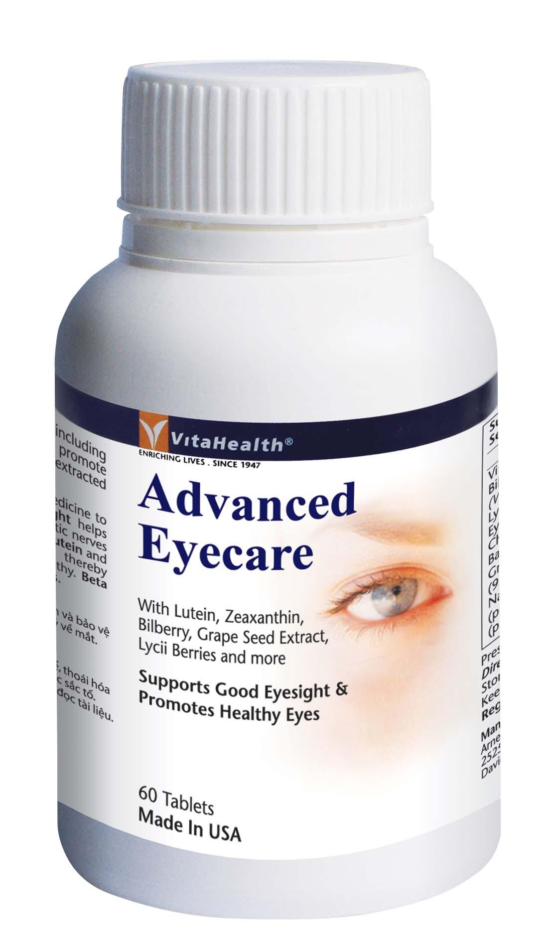 Thực phẩm bảo vệ sức khỏe Vitahealth Advanced Eyecare