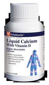 Thực phẩm bảo vệ sức khỏe Vitahealth Liquid Calcium With Vitamin D