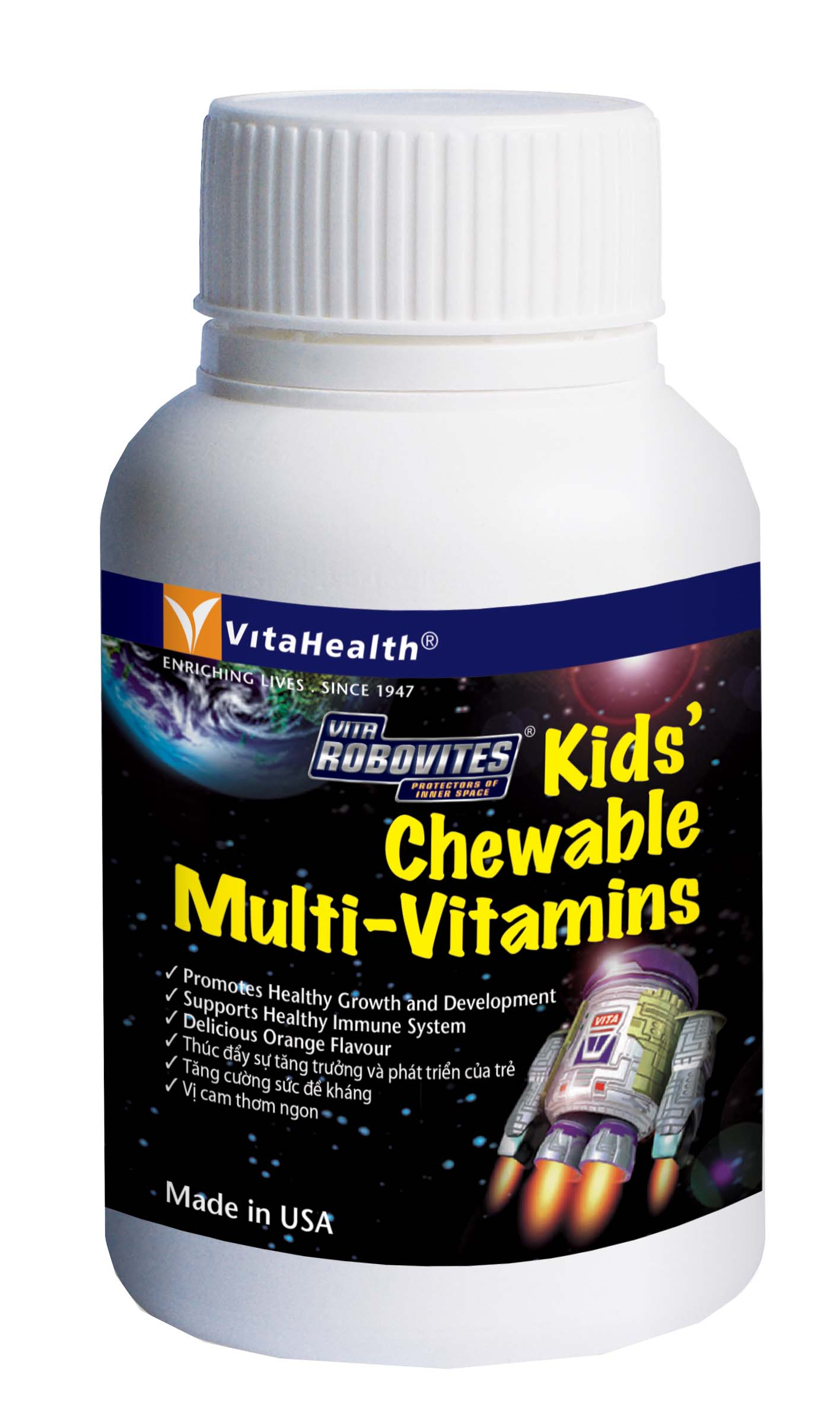 Food Supplement VH Robovites Kids' Chewable Multi-Vitamins