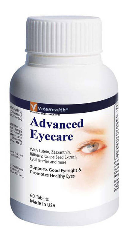 Food Supplement VitaHealth Advanced Eyecare